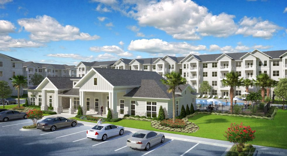 The Station at Savannah Quarters<sup>®</sup> New $30-Million Apartment Complex, Breaks Ground
