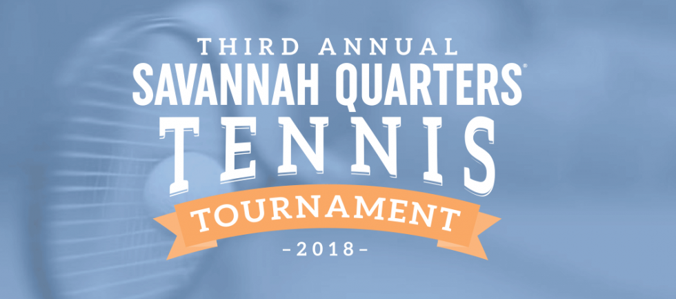 Unmatched: The Third Annual Savannah Quarters<sup>®</sup> Tennis Tournament creates good times for a great cause.