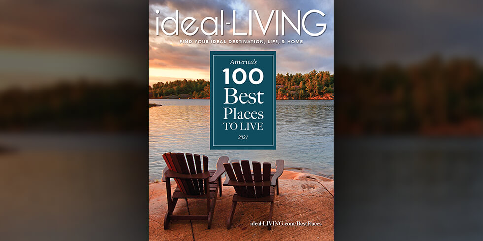 """ideal-LIVING Magazine Honors """"The Top 100 Planned Communities"""""""