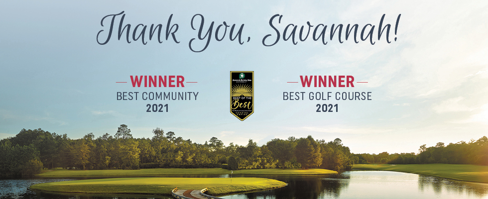 Savannah Quarters® is Simply the Best of the Best